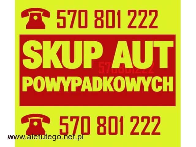 skup aut powypadkowych  /skup aut uszkodzonych Śląsk / Małopolska / Opolskie